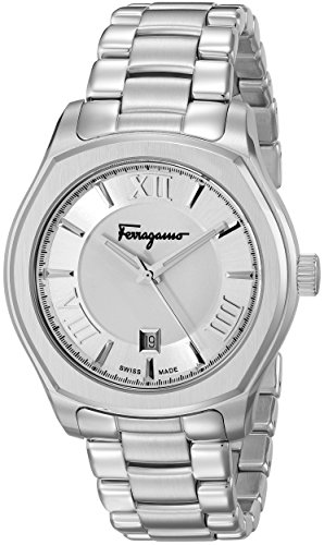 Salvatore-Ferragamo-Mens-FQ1940015-Lungarno-Analog-Display-Quartz-Silver-Watch