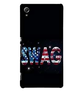 SWAG 3D Hard Polycarbonate Designer Back Case Cover for Sony Xperia Z4
