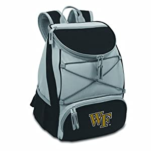 Buy NCAA Wake Forest Demon Deacons PTX Insulated Backpack Cooler, Black, Regular by Picnic Time