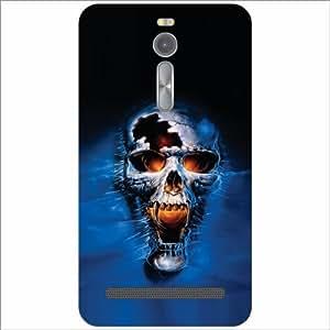 Asus ZenFone 2 ZE551ML Back Cover - Skull Designer Cases