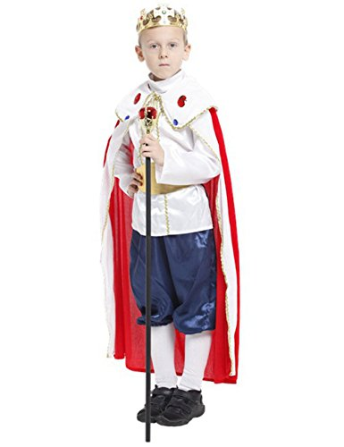 Chuangmei Children's Halloween Performing Boys Kings Masquerade Prince clothes