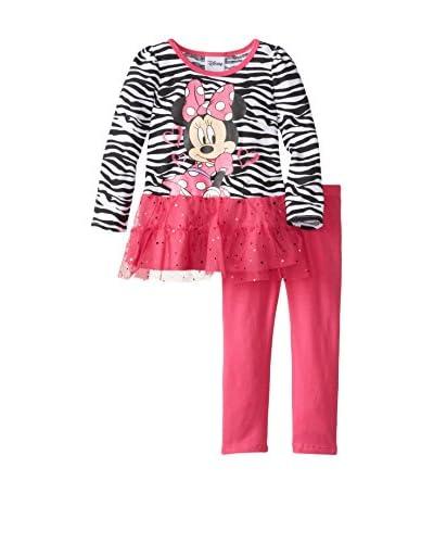 Disney Little Girls' Minnie Mouse 2-Piece Set