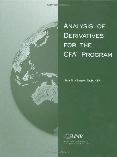 Analysis of Derivatives for the CFA Program