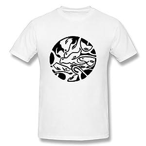 Fantasy Print Short Sleeve O Neck Cotton Funny Guys T Shirt