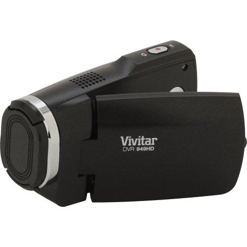 Vivitar Dvr949-Black 12.1Mp Full Hd Digital Camcorder Video Camera With 2.7-Inch Lcd Screen (Black)