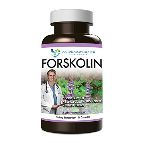 Doctor Recommended Forskolin Dietary Supplement, 90 Count