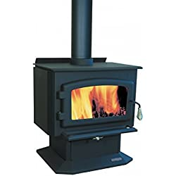 Adirondack Wood Stove on Pedestal