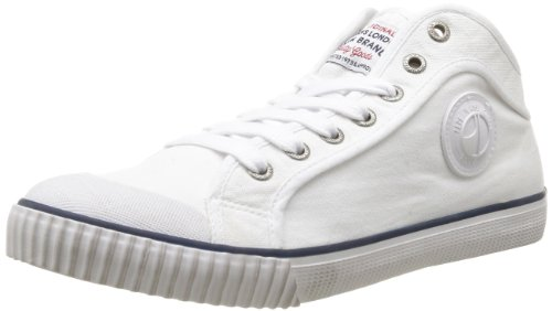 Pepe Jeans Mens Industry IN-291 A High-Top PMS30011 White 41 EU/7.5 UK