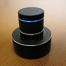 Hanwha iPhone/スマートフォン向け Bluetooth 高出力・高音質 振動スピーカー HS-BVS002 [バイブレーションスピーカー][ワイヤレススピーカー]