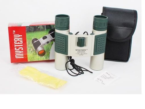 Mystery 10X25(60X35) Binoculars With Carrying Pouch