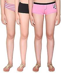 Vivity Multi Cotton Assorted Panties Pack of 3