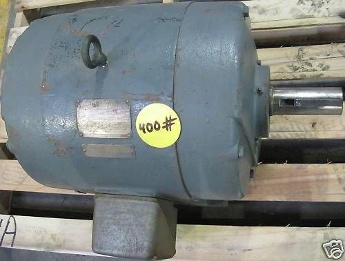 General Electric Tr-Clad 3-Phase 40Hp Ac 230/460Vac Motor 5K324Ak205 1755Rpm