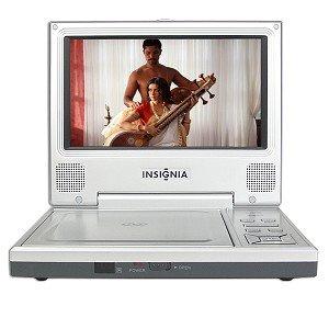"""7"""" Insignia Ns-7Pdvda Widescreen Portable Dvd Player (Silver)"""