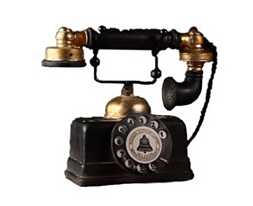 Retro Do Old Resin Ornaments - Call Telephone
