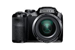 Fujifilm FinePix S6800 16MP Digital Camera with 3-Inch LCD (Black)