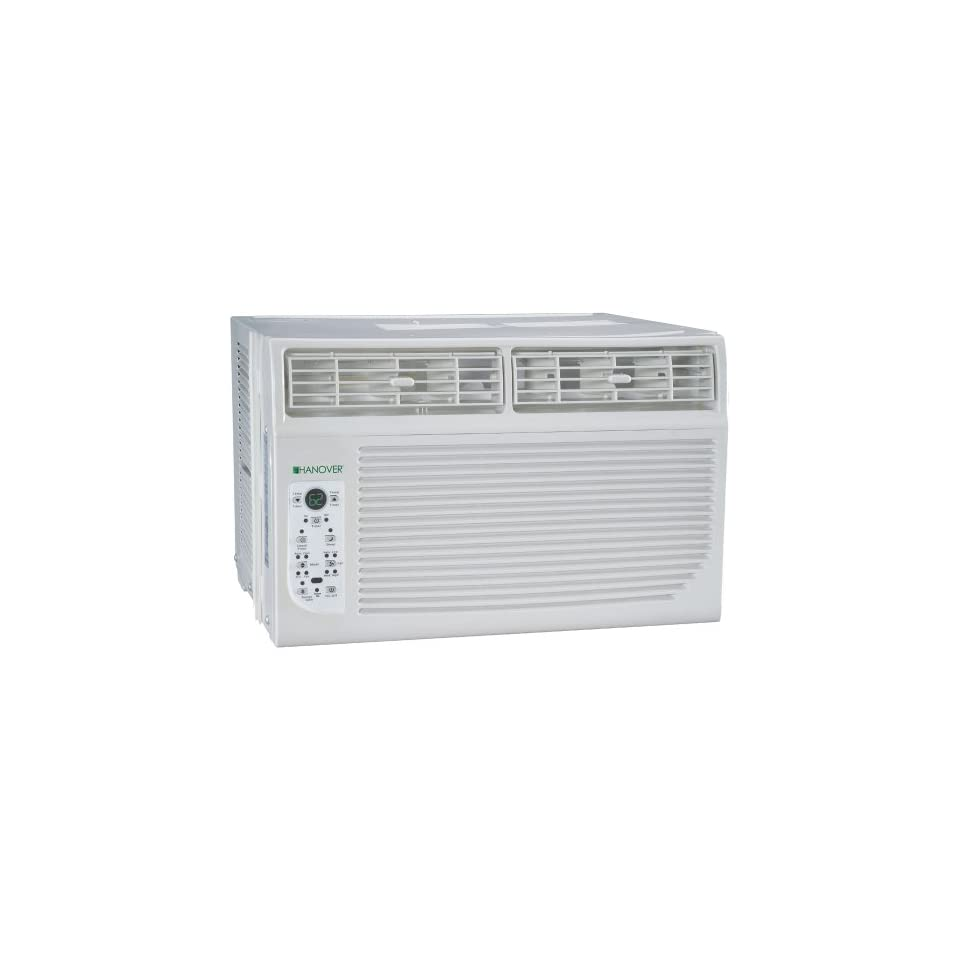 Hanover HANAW12A Energy Star 12,000 BTU 115 Volt Window Mounted Air Conditioner with Follow Me LCD Remote Control