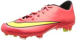 Nike Mens Mercurial Victory V Fg Soccer Cleat-Hyper Punch/Black/Volt/Metallic Gold Coin-11.5