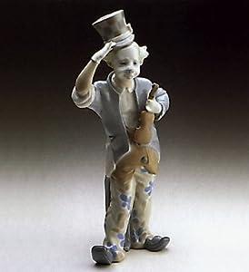 Amazon.com - Lladro Clown with Violin Matte Finish