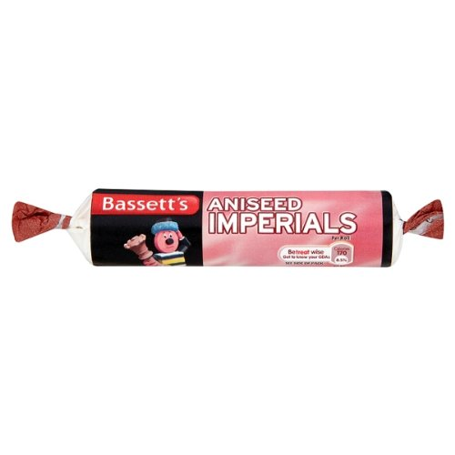 Bassett's Aniseed Imperials (Pack Of 40 X 43G) (Aniseed Imperials compare prices)