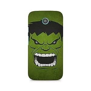 Ebby Hulk Minimalist Premium Printed Case For Moto X