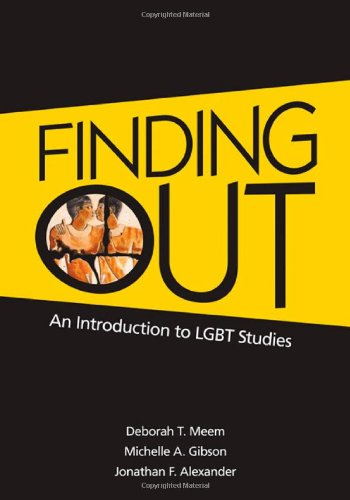 an introduction to the coming out of gays and lesbians That likens homosexuals' introduction into gay subculture describe coming out as a process for gay and lesbian coming out, coming home: helping.