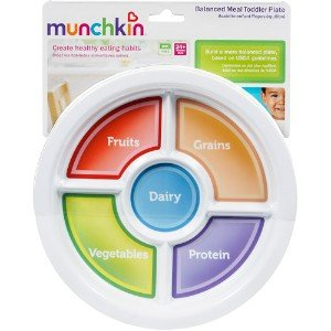 Muchkin Balanced Meal Toddler Plate