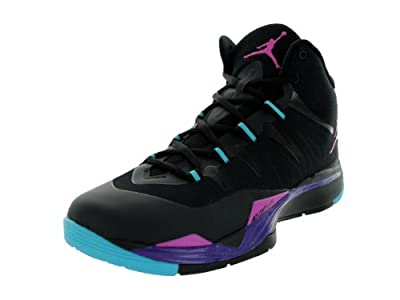 ac5f892ee053c Low Nike Jordan Men's Jordan Super.Fly 2 Black/Clb Pink/Crt Prpl Gmm ...