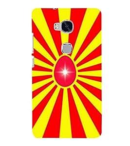 printtech Egg Star Back Case Cover for Huawei Honor 5X :: Huawei Honor X5 :: Huawei GR5