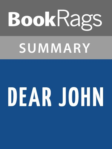 dear john summary The official website of nicholas sparks, american novelist, screenwriter and producer he has seventeen published novels as of september 2013 plus one non-fiction.