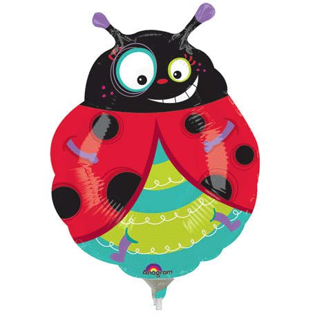Graphic Ladybug Mini Shape