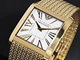 Emporio Armani Gold-Tone Mesh Mens Watch AR2016 Wrist Watch (Wristwatch)