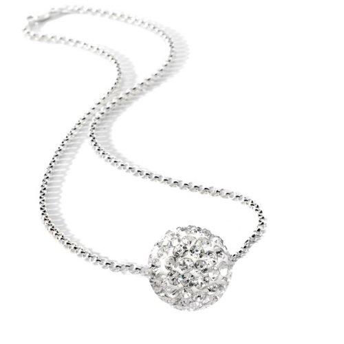 Cz Diamond Color Bead Ball Cubic zirconia Necklace