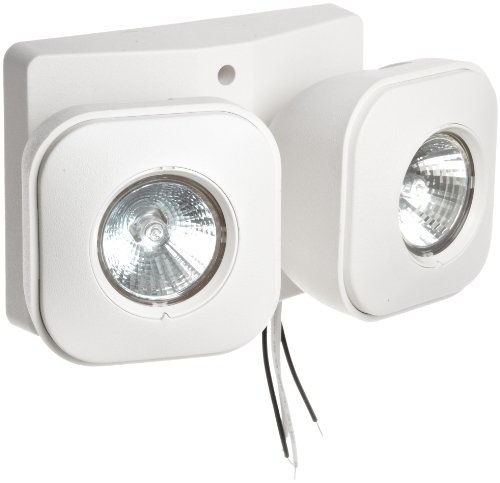 Morris Products 73069 Remote Emergency Light Head, 2 MR16,  7.2 Watts, 6 Volts