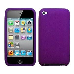 38436545f2aff Cbus Wireless Purple Silicone Case / Skin / Cover for Apple iPod ...