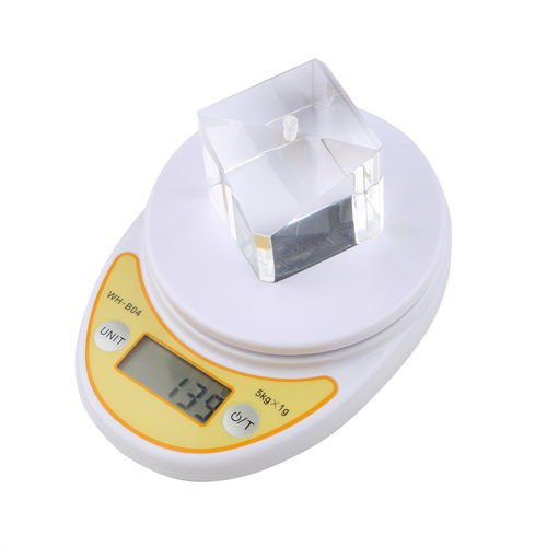 Mini 5000G Digital Electronic Scales Kichen Postal Home Scale 5Kg 2.4V~3.5V T7
