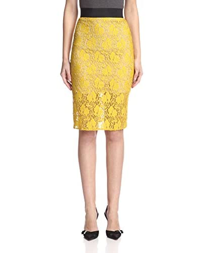 A.B.S. by Allen Schwartz Women's Lace Skirt