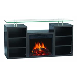 Sylvania Sbm205l 50edw Electric Fireplace Heater 1250 Watt With 50 Inch Mantel Ideal For Flat