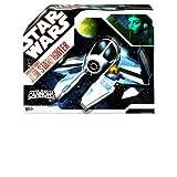 Star Wars 30th Anniversary Clone Wars Saga Vehicle Aayla Secura's Jedi Starfighter (Color: Various, Tamaño: 3-3/4)