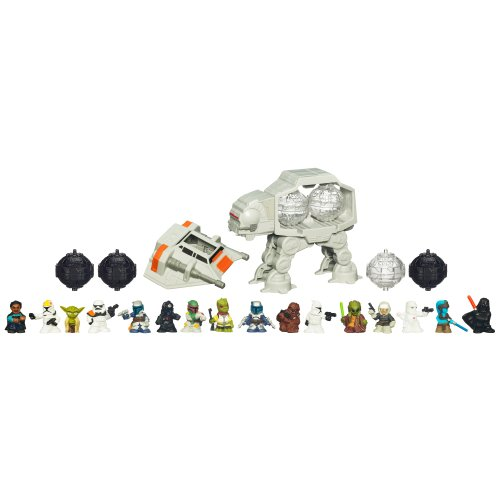 41UK woIZ4L STAR WARS Fighter Pod 16 Figure pack