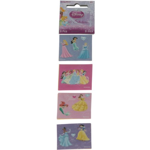 Disney Princess Square Sticker - 1