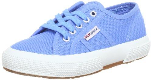 Superga 2750-Jcot Classic Scarpe Walking Baby, Unisex bimbo, Blu (Azure Blue), 24