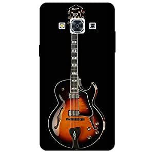 Guitar- Mobile Back Case Cover For Samsung Galaxy J3 Pro