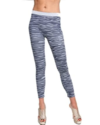 G2 Chic Women's Print Thick Ribbed Leggings(BTM-LEG,DBL-OS)