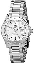 TAG Heuer Women's WAY1411.BA0920 Aquaracer Analog Display Analog Quartz Silver Watch