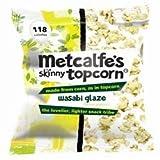 Metcalfe's Skinny Wasabi Glaze Topcorn 25g x 5