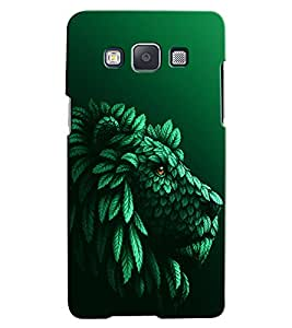 Citydreamz Lion\Wild\Animal\Jungle Hard Polycarbonate Designer Back Case Cover For Samsung Galaxy On5 Pro