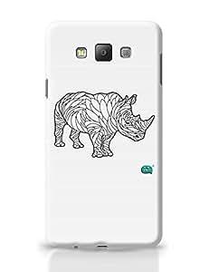 Posterguy Rare Rhinocorous Portrait Case Cover For Samsung Galaxy A7 (White)
