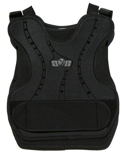 Gen X Global Chest Protector Vest for Paintball and Airsoft Players - Black