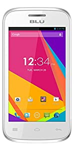 BLU Dash JR 4.0K Android 4.2, 2MP - Unlocked (White)