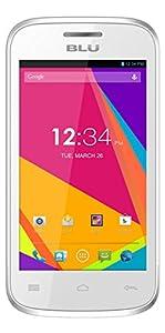 BLU Dash JR 4.0K Android 4.2, 2MP - Unlocked (White)